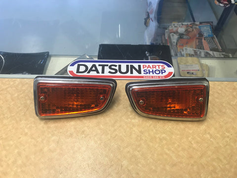 Datsun 180B Reproduction Guard Lights New
