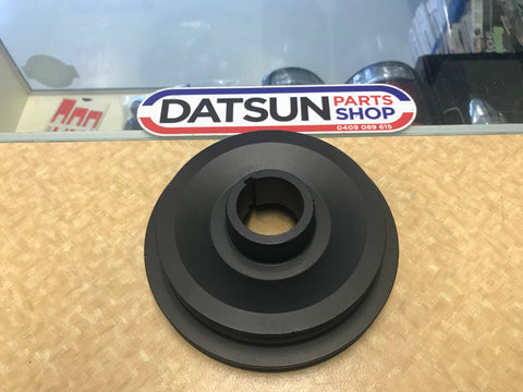 Datsun L Series Dual Crank Pulley Used Nissan