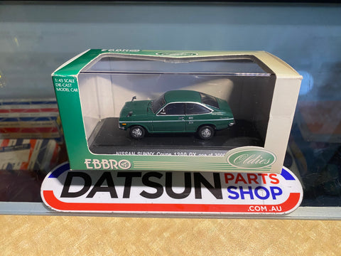 Ebbro 1/43 Datsun 1200 Coupe Model KB110