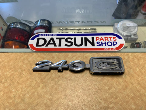 Datsun 240C Badge Used