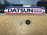 Datsun 120Y Bonnet Rod Rubber & Clip New Genuine