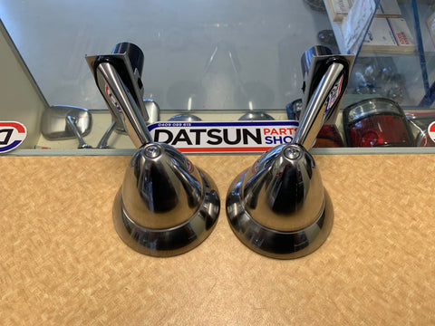 Datsun Fender Mirror Pair Genuine New