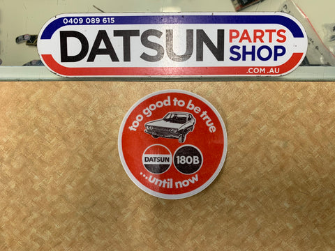 Datsun 180B Retro Sticker