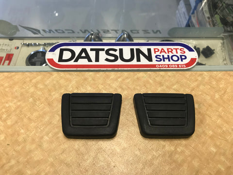 Datsun 180B 610 Pedal Rubber Pair New Genuine