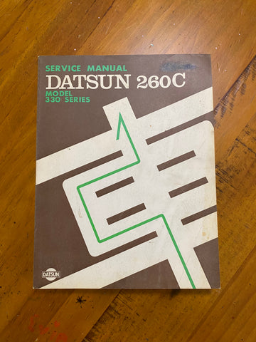 Datsun 260C 330 Series Service Manual Used