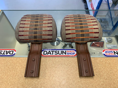 Datsun 1200 Ute Head Rest Pair Used Nissan B120
