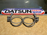 Datsun 1200 Radiator Hose Clamp Pair New Genuine Part