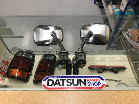 Datsun 1600 Fender Mirror Pair New Genuine