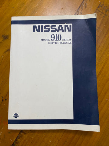 Datsun 910 Bluebird Service Manual Used Genuine Book