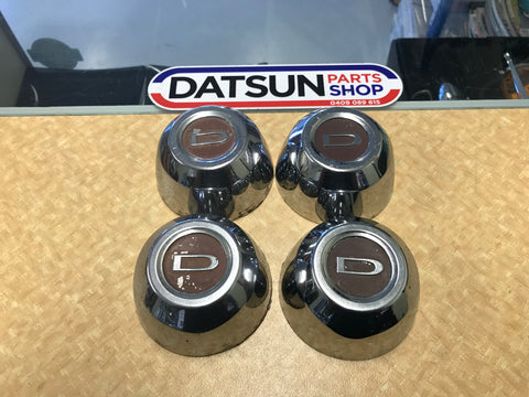 Datsun 200B SSS Centre Cap Set of 4 Used