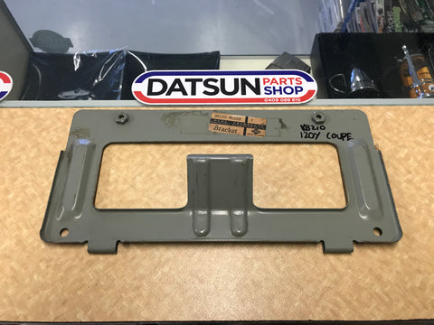 Datsun 120Y KB210 Rear Number Plate Bracket Genuine NOS