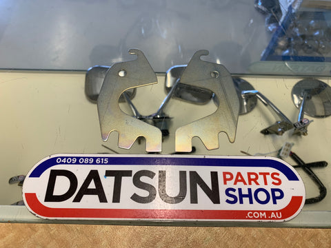 Datsun 1200 Striker Plate Shim Spacer Plate Pair New Genuine