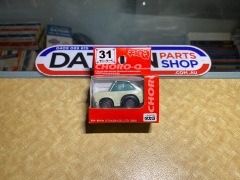 Datsun 1200 Coupe Choro Q Pull Back Mini Car