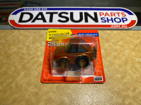 Datsun 1200 Coupe GX5 Choro Q Pull Back Mini Car
