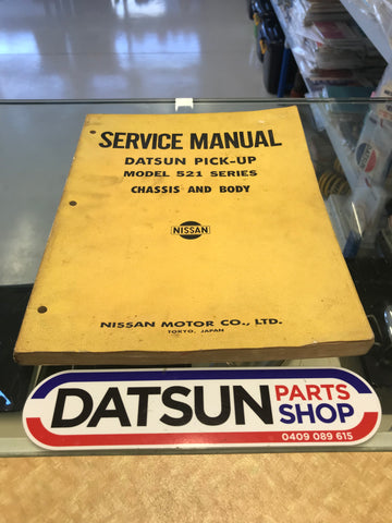 Datsun 521 Service Manual Used