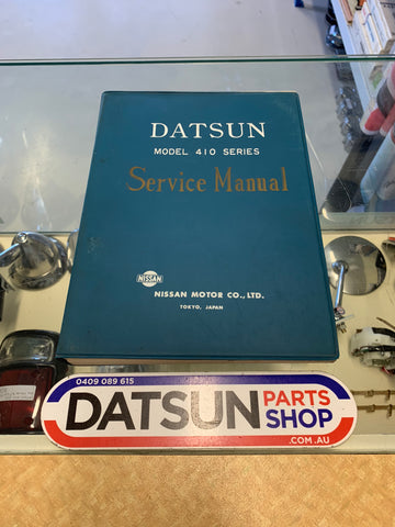 Datsun 410 Bluebird Service Manual Used Nissan