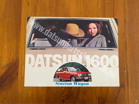 Datsun 1600 Wagon 510 Advertising Folder Used