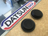 Datsun 620 Fire Wall Heater Hose Rubber Bung Pair New Genuine