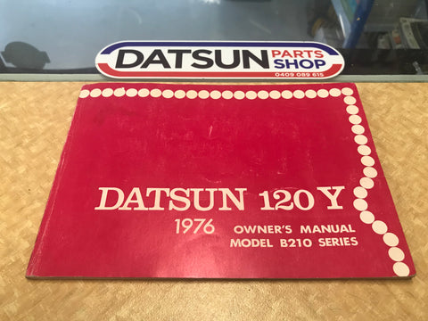 Datsun 120Y B210 Series Owners Manual Used