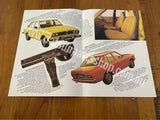 Datsun Stanza Advertising Folder Booklet 4 pages Used Original Nissan pa10