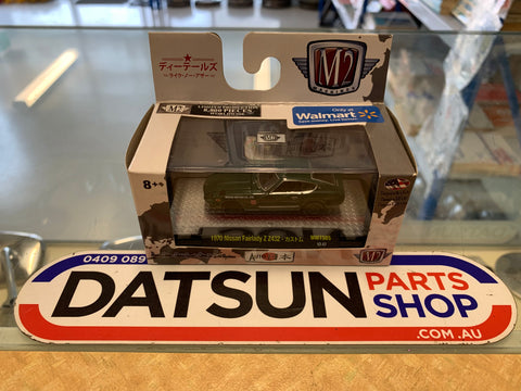 Datsun Nissan Fairlady 240Z Z432 1/64 Diecast Model Green
