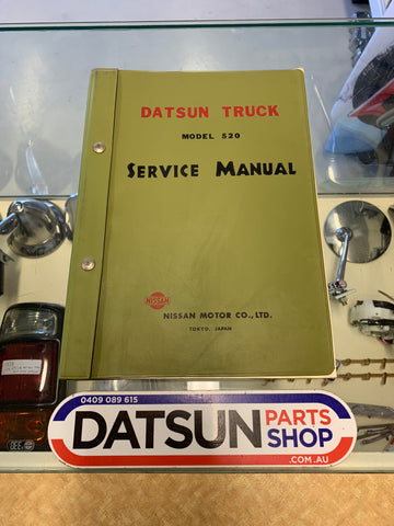 Datsun Truck 520 Ute Service Manual Used