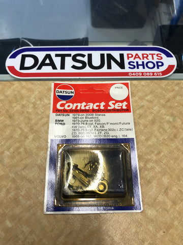 Genuine Datsun Contact Set 200B Stanza Bluebird 520