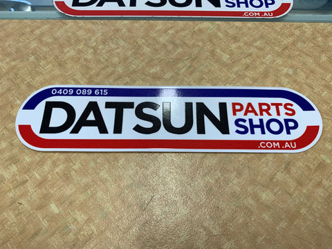 Datsun Parts Shop 210mm Sticker