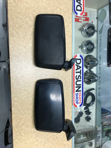 Datsun Door Mirror LH x2 Suit C210 Skyline, S2 Stanza, S1 910 Bluebird