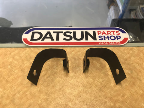 Datsun 1200 Front Bumper End Brackets New Genuine