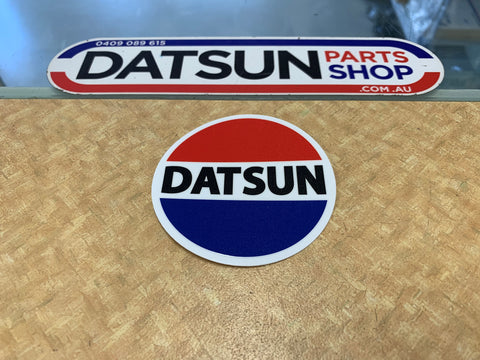 Datsun 75mm Round Sticker