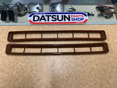 Datsun 1200 Ute Demister Vent Grill Pair Used