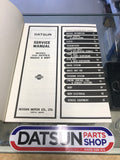 Datsun 330 Service Manual Used