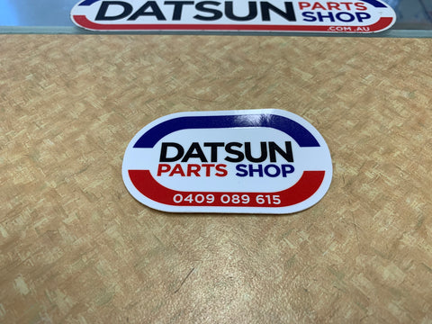 Datsun Parts Shop 90mm Sticker