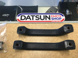 Datsun 180B Inner Door Pull Pair Dark Blue Used