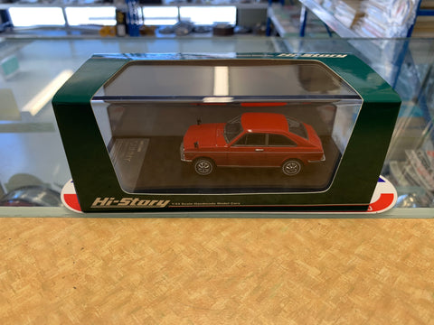Hi Story 1/43 Scale Model Datsun Sunny 1000 Coupe KB10