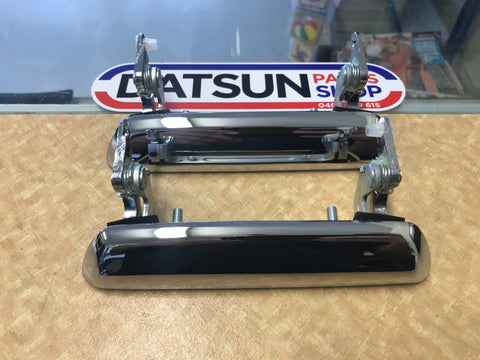 Datsun 240Z 260Z S30 door handles pair New Genuine
