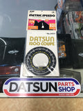 Order for Datsun 1200 Coupe Speedo Metric conversion decal