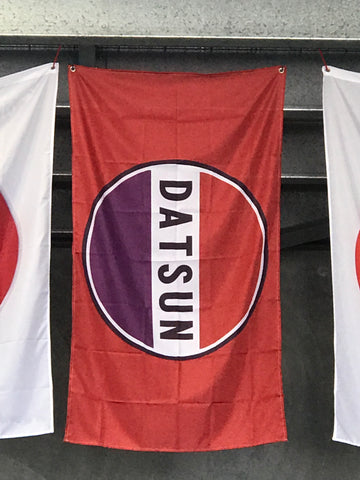 Datsun Red Flag 100% polyester