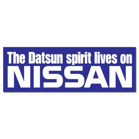 The Datsun Spirit lives on Sticker
