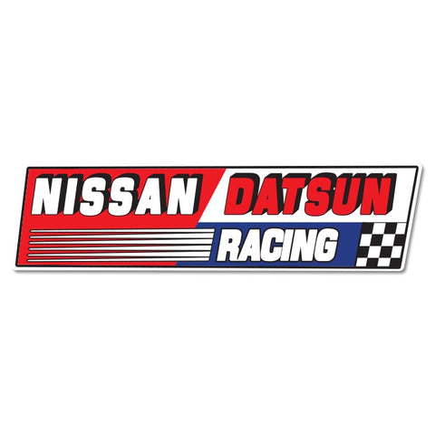 Nissan Datsun Racing Sticker Small