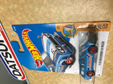 Blue Hot Wheels Datsun Bluebird Wagon 1600 510