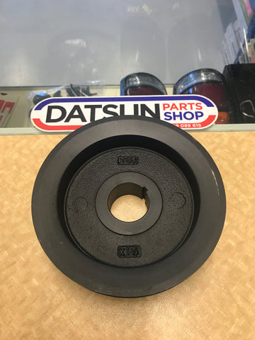 Datsun L Series Single Crank Pulley Used Nissan