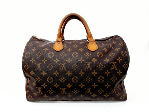 Louis Vuitton Speedy Bag - gold-center
