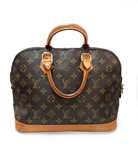 LOUIS VUITTON תיק יד דגם ALMA - gold-center