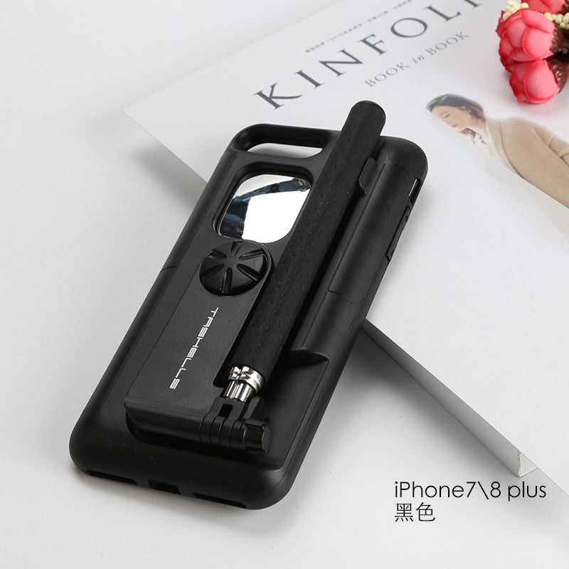 Bluetooth Selfie Stick Case for iPhone 7 Plus 8 Plus