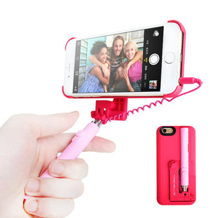 Tashells iPhone 6/6s wired Selfie Stick Case