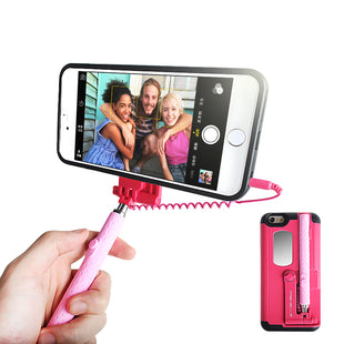 iPhone 6 Plus iPhone6S plus Wired Selfie Stick Case