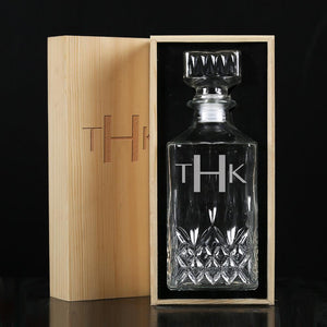 Groomsmen Gift ideas, Customized gift decanter - CustomizationMart
