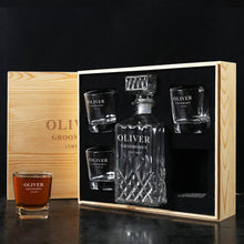 Groomsmen Gift ideas, Customized Decanter set - CustomizationMart